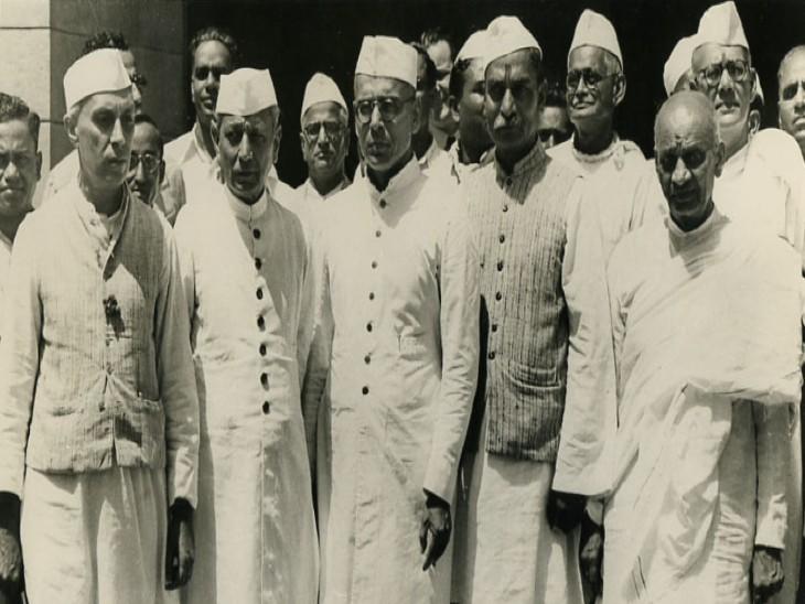 भारत की अंतरिम सरकार के सदस्यगण।