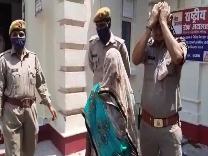 इटावा में प्रेम प्रसंगों के चलते बेटी की हत्या करने वाली मां को पुलिस ने किया गिरफ्तार। - Dainik Bhaskar