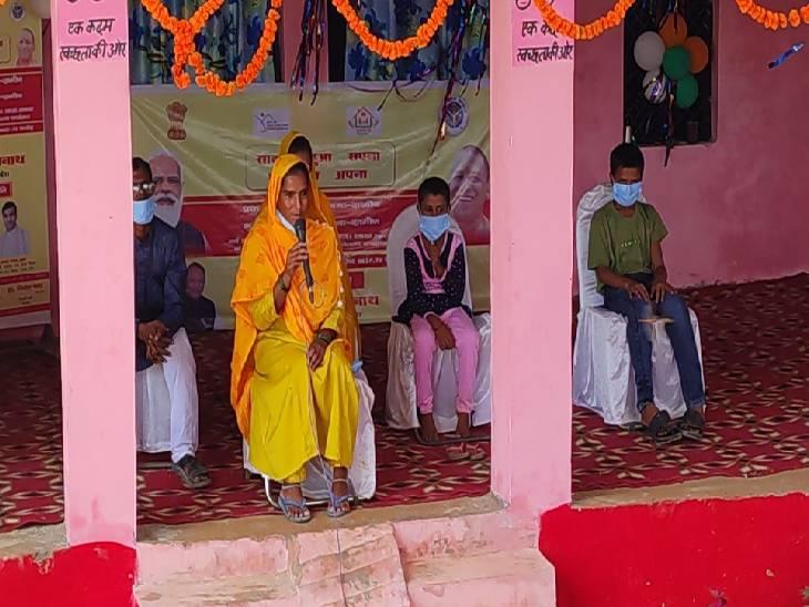 बहराइच में हाजरा सलीम से मुख्यमंत्री योगी आदित्यनाथ ने की बातचीत बहराइच,Bahraich - Dainik Bhaskar