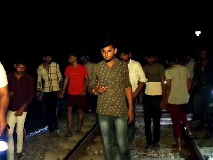 परिजनों से नाराज होकर घर से चला गया था, ट्रेन के आगे कूदकर जान दे दी हमीरपुर,Hamirpur - Dainik Bhaskar