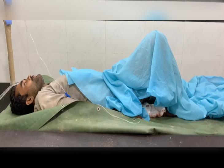 देर रात तारबंदी के इस तरफ दिखे 3 संदिग्ध, BSF ने फायरिंग की तो तो दो भागे; तीसरा घायल हालत में अस्पताल में भर्ती कराया गया|पंजाब,Punjab - Dainik Bhaskar