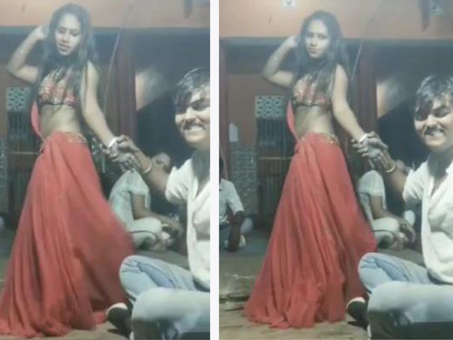 रितिक सिंह पटेल किसी अज्ञात स्थान पर युवतियों के साथ डांस करता दिखाई पड़ रहा है।