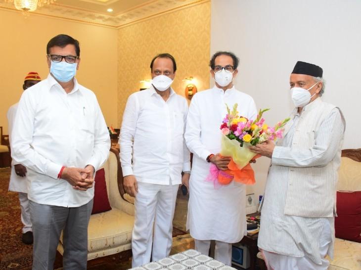 मुख्यमंत्री उद्धव ठाकरे के नेतृत्व वाली महाविकास आघाडी सरकार ने कुल 12 लोगों को विधान परिषद सदस्य बनाने की लिखित सिफारिश राज्यपाल कोश्यारी से की है। - Dainik Bhaskar