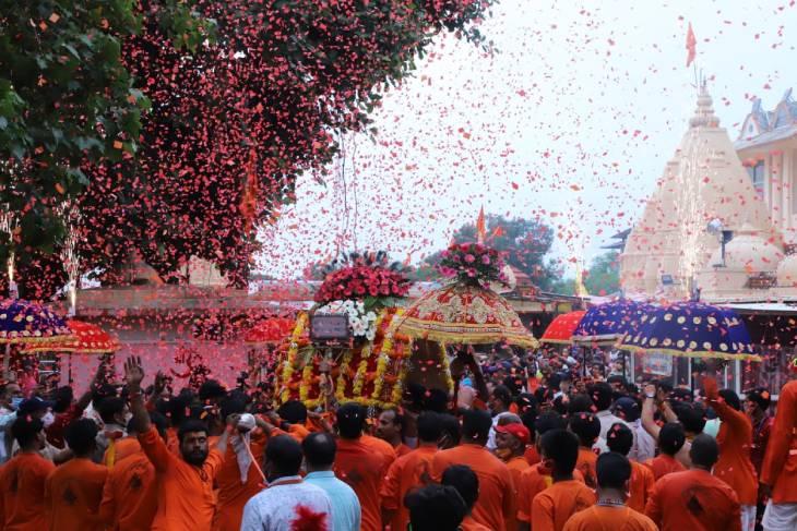 6 सितंबर को श्री महाकालेश्वर की शाही सवारी परिवर्तित मार्ग से ही निकाली जायेगी|उज्जैन,Ujjain - Dainik Bhaskar