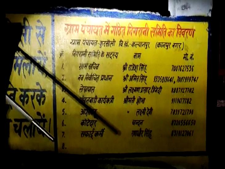 दो मौतों के बाद गांव में खौफ का मंजर, गांव में दर्जनों बीमार, स्वास्थ्य महकमा बेपरवाह कानपुर,Kanpur - Dainik Bhaskar