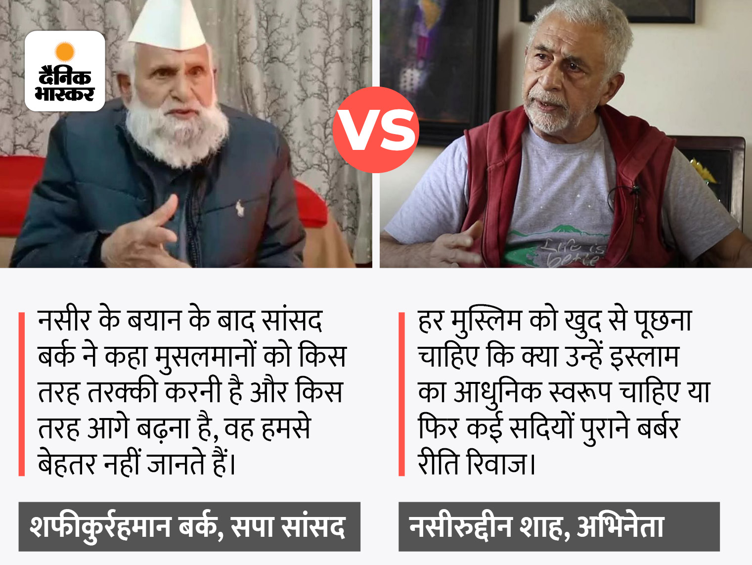 बोले- वो फिल्मी अंदाज में बोल रहे, हम फिल्मी नहीं; शाह ने कहा था कि मुसलमानों को वक्त के साथ बदलने की जरूरत है संभल,Sambhal - Dainik Bhaskar