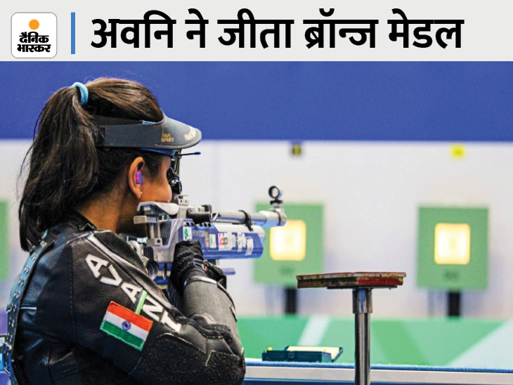 50 मीटर एयर राइफल प्रतिस्पर्धा में मान बढ़ाया, एक ओलिंपिक में दो मेडल जीतने वाली देश की पहली खिलाड़ी बनीं|जयपुर,Jaipur - Dainik Bhaskar