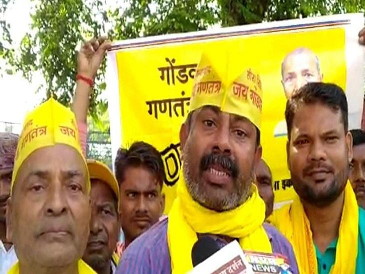 गोंडवाना गणतंत्र पार्टी 2022 के चुनाव में समाजवादी पार्टी के साथ, वाराणसी में अरविंद ने कहा- 22 सितंबर को लखनऊ में करेंगे एलान|वाराणसी,Varanasi - Dainik Bhaskar