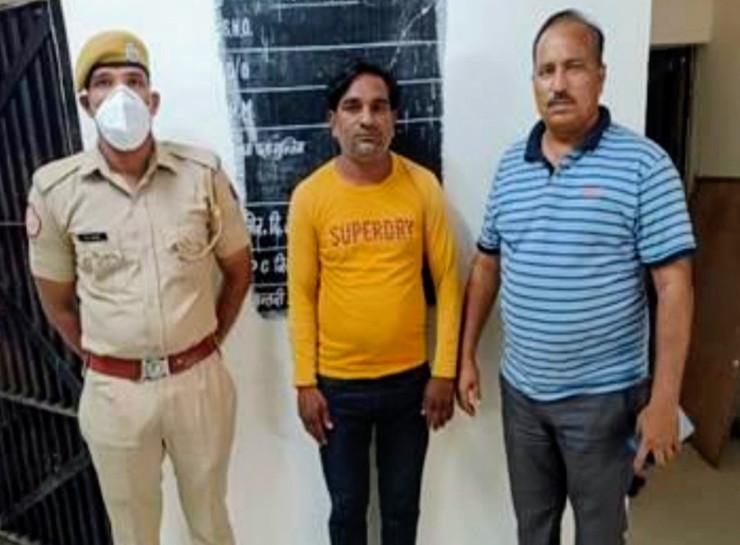 आगरा का रहने वाला लुटेरा जयपुर में किराए से रहकर करता है वारदात, गैंग के सरगना से नाम सामने आने पर पकड़ा गया|जयपुर,Jaipur - Dainik Bhaskar