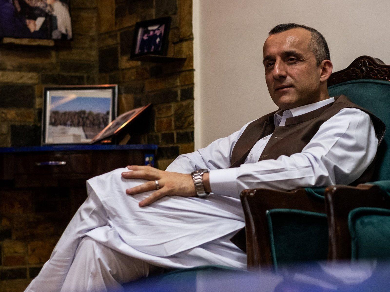 अमरूल्लाह सालेह तालिबान के खिलाफ हैं। वे पंजशीर में अहमद मसूद के लड़ाकों के साथ मिल कर तालिबान के खिलाफ जंग का ऐलान कर चुके हैं।