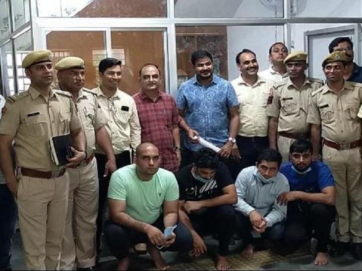 हाईवे के 14 फुटओवर ब्रिज डिजाइन को लेकर था विवाद, कंपनी मालिक ने 15 लाख रुपए में शूटर से करवाई हत्या|जयपुर,Jaipur - Dainik Bhaskar