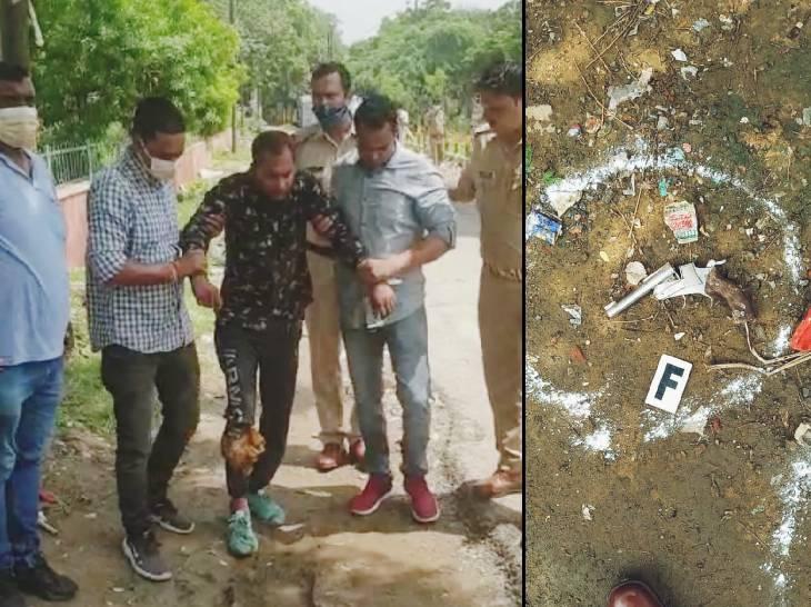 दिल्ली की जेल से पांच महीने पहले छूटा था आमिर, एनसीआर क्षेत्र में कर रहा था लूट और चोरियां गाजियाबाद,Ghaziabad - Dainik Bhaskar