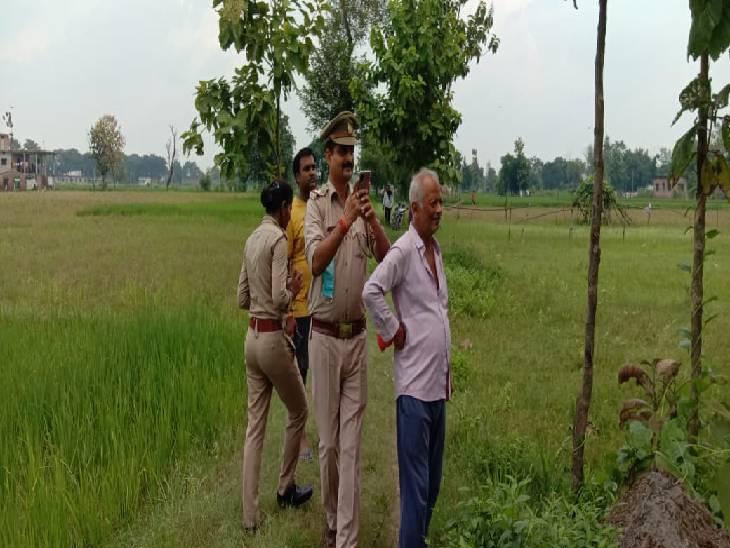 महावत को गिराकर खेतों में भागा, अभी तक पकड़ से बाहर है हाथी, खेतों में मचा रहा उत्पात|देवरिया,Deoria - Dainik Bhaskar
