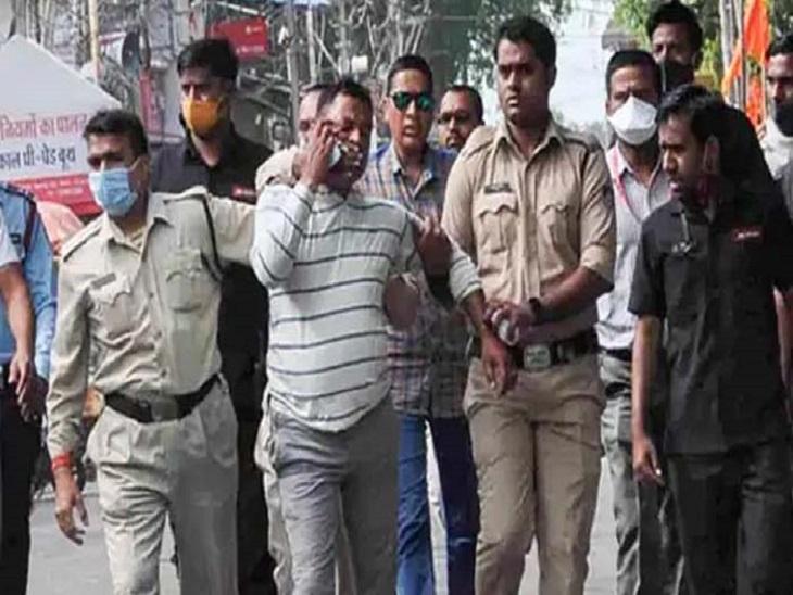 दोषी पुलिस कर्मियों और अपराधियों में होती थी लगातार बात, बारदात से पहले हुई बात बनी आधार|कानपुर,Kanpur - Dainik Bhaskar