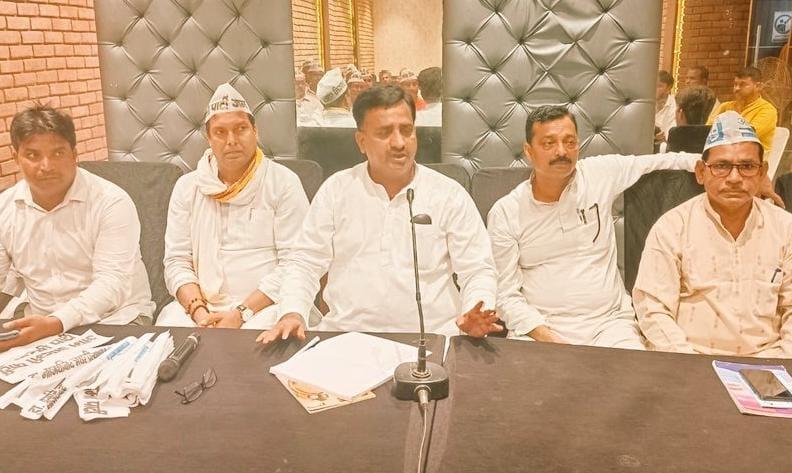 मनीष सिसोदिया और सांसद संजय सिंह 14 सितंबर को निकालेंगे तिरंगा यात्रा, रामलला के दरबार में लगाएंगें हाजरी; राष्ट्रवाद से जनता को कराएंगे रूबरू|अयोध्या,Ayodhya - Dainik Bhaskar