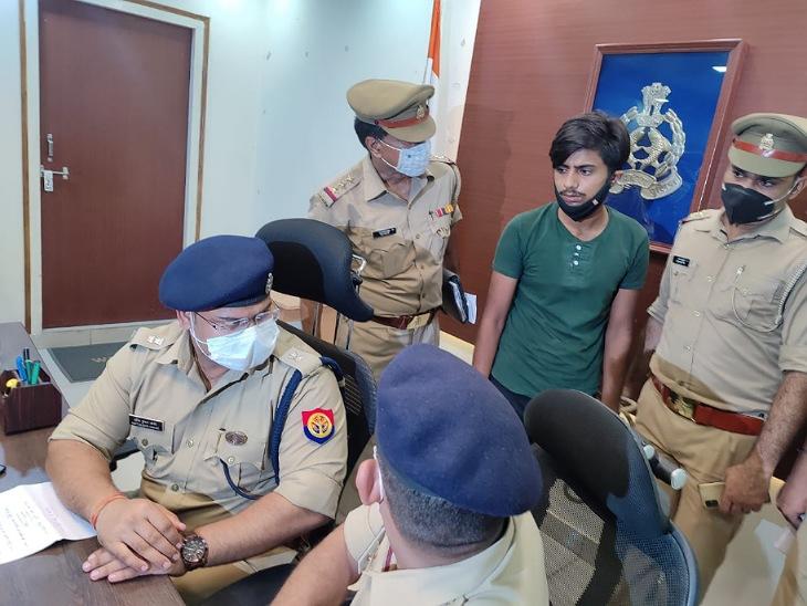 कोल्ड ड्रिंक में नशा देकर पार्टनर से लूटा 8 लाख कैश और पिस्टल, पुलिस से कहा- हाईवे पर 2 लुटेरों ने की वारदात|मुरादाबाद,Moradabad - Dainik Bhaskar