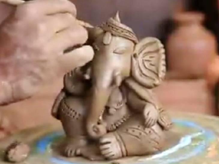 भोपाल में आज से गणेश प्रतिमा बनाना सीखें; तोहफे में प्रतिमा अपने साथ घर भी ले जाओ, एप्को फ्री में ट्रेनिंग और सामान देगा भोपाल,Bhopal - Dainik Bhaskar