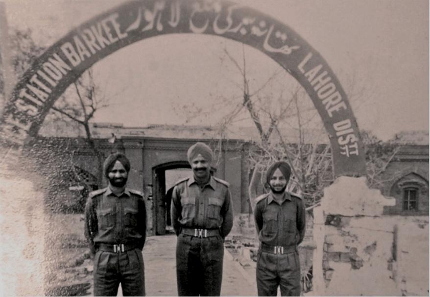 युद्ध के दौरान भारत ने लाहौर की एक पुलिस चौकी पर भी कब्जा कर लिया था।