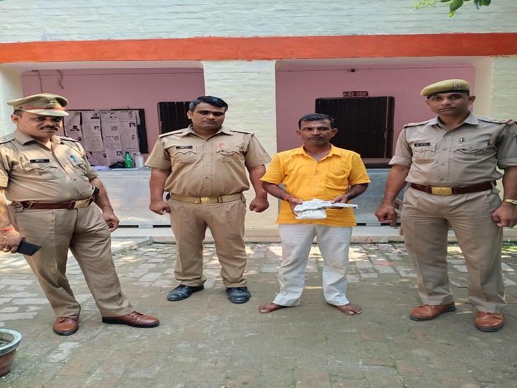 लूट, हत्या में था शामिल, लखनऊ मुंबई, बलिया में दर्ज हैं मुकदमे, SP बोले काफी समय से थी तलाश|आजमगढ़,Azamgarh - Dainik Bhaskar