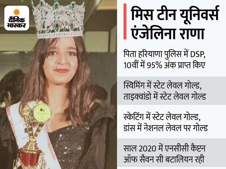 बोली- माई फस्ट लव माई फादर, इंडियन आर्मी में डॉक्टर बनना सपना; देशभर से 30 लड़कियों ने लिया था हिस्सा रोहतक,Rohtak - Dainik Bhaskar