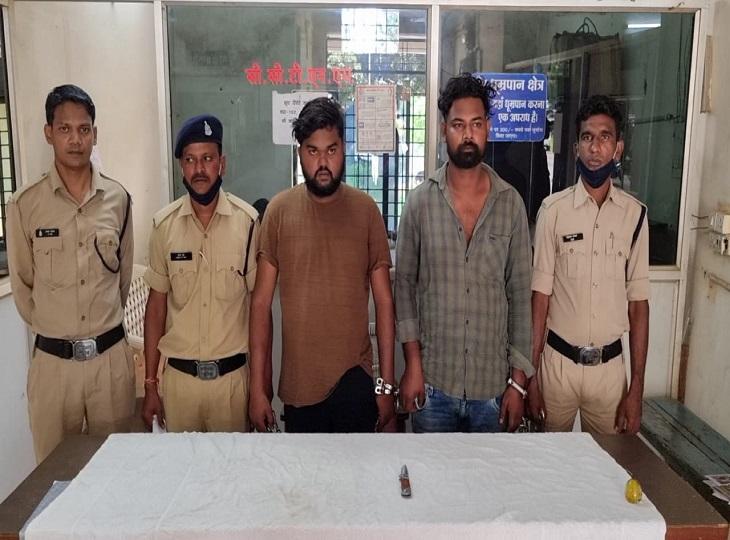 जगदलपुर के आइलैंड के पास दो गुटों में हुआ था विवाद, चाकू से वार कर दो सगे भाइयों को किया था अधमरा, गए सलाखों के पीछे जगदलपुर,Jagdalpur - Dainik Bhaskar
