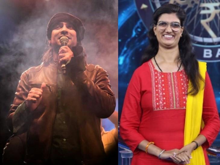 जुबिन नौटियाल ने अपने फैन और केबीसी विनर हिमानी बुंदेला को घर जाकर दिया सरप्राइज बोले-मुझे उनसे प्योर लव मिला|बॉलीवुड,Bollywood - Dainik Bhaskar