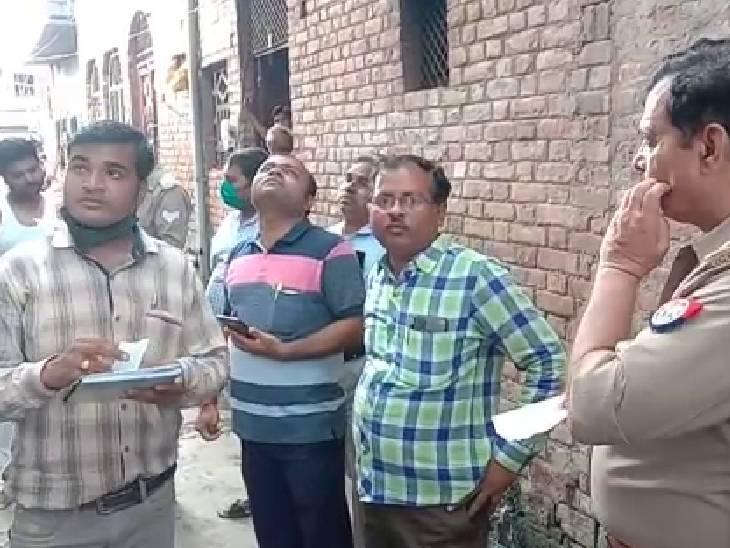 बिजली विभाग और विजिलेंस टीम ने मारा छापा, 50 घरों के कनेक्शन चेक किए|औरैया,Auraiya - Dainik Bhaskar