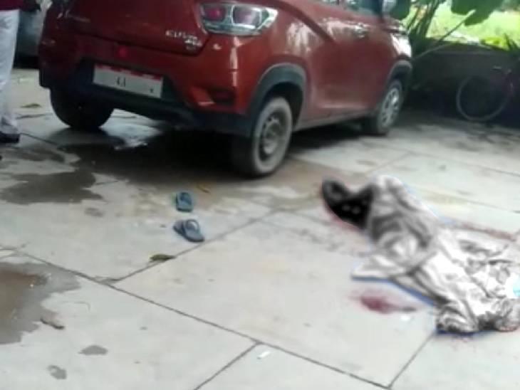 रिश्तेदार के घर गए थे दंपत्ति, शराब के नशे में घर जाने को लेकर पत्नी से हुआ विवाद, दूसरी मंजिल से कूदा, हालत गंभीर|सीतापुर,Sitapur - Dainik Bhaskar