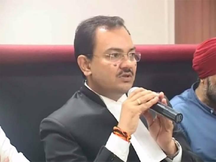 सुप्रीम कोर्ट कॉलेजियम ने मध्यप्रदेश के महाधिवक्ता पुष्पेंद्र कौरव के नाम की अनुशंसा की, राष्ट्रपति लेंगे निर्णय|जबलपुर,Jabalpur - Dainik Bhaskar