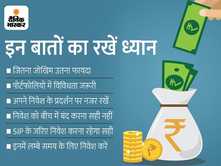 म्यूचुअल फंड में निवेश से पहले इन 8 बातों का रखें ध्यान, नहीं तो उठाना पड़ सकता है नुकसान|बिजनेस,Business - Dainik Bhaskar