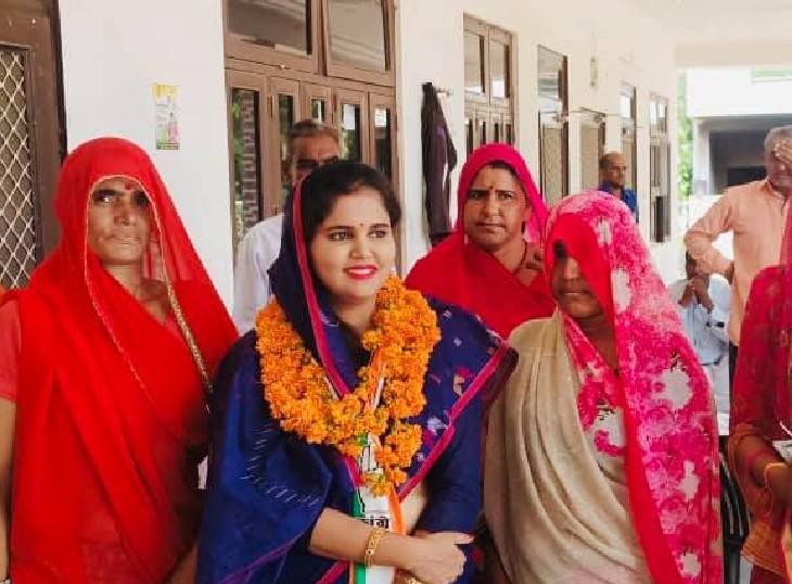 बहू रूपाली नागर जीती, लेकिन प्रधान बनने का सपना टूटा; मौजमाबाद में 17 में से 14 सीटे बीजेपी ने जीती, कांग्रेस 2 पर सिमटी जयपुर,Jaipur - Dainik Bhaskar