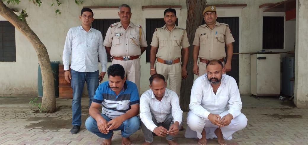 वारदात होते ही करवाई नाकेबंदी, कुछ घंटों में आरोपी आए पकड़ में, पहले भी कर चुके हैंहत्या सहित कई वारदात श्रीगंंगानगर,Sriganganagar - Dainik Bhaskar