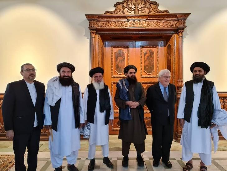 पंजशीर में लड़ रहे मसूद ने तालिबान के सामने जंग खत्म करने का प्रस्ताव रखा; मुल्ला बरादर UN के प्रतिनिधियों से मिले|विदेश,International - Dainik Bhaskar