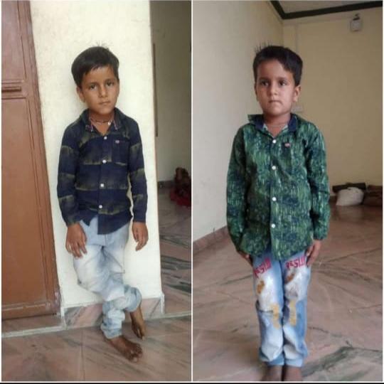 सात साल के जुडवां भाइयों की हत्या का मामला, विधानसभा अध्यक्ष की समझाइश बाद धरना समाप्त, चार दिन में हत्या का खुलासा करने का दिया आश्वासन|राजसमंद,Rajsamand - Dainik Bhaskar