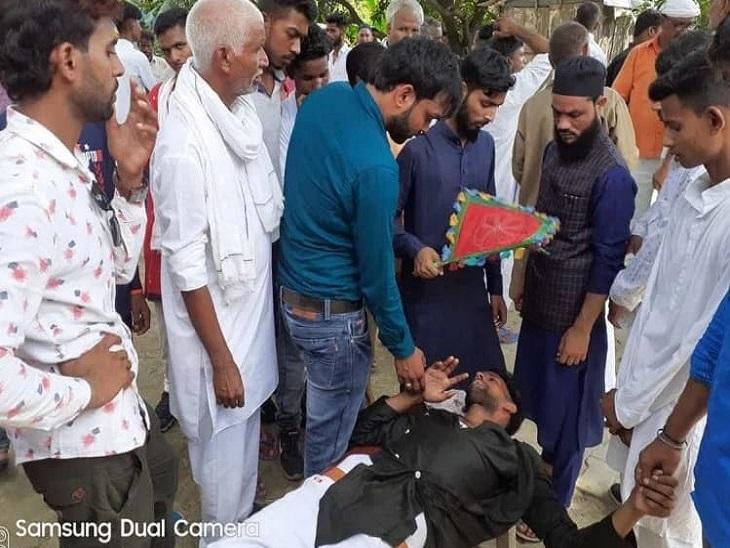 कार सवार परिवार की 3 महिलाओं को भी किया अगवा, दूल्हे पर लड़की से शादी न करने का बना रहे थे दबाव; 3 घंटे बाद छोड़ा|आजमगढ़,Azamgarh - Dainik Bhaskar