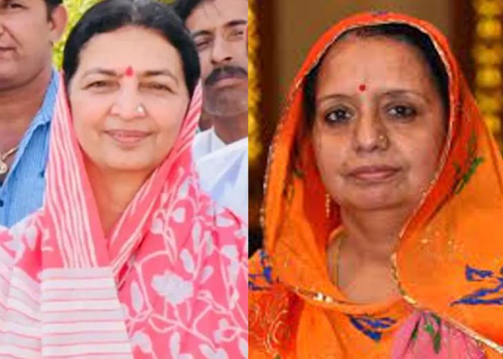 जोधपुर जिला प्रमुख बनने को अड़ गई लीला मदेरणा-मुन्नी गोदारा, दोनों के झगड़े में पहले भी हुआ कांग्रेस को नुकसान|जोधपुर,Jodhpur - Dainik Bhaskar
