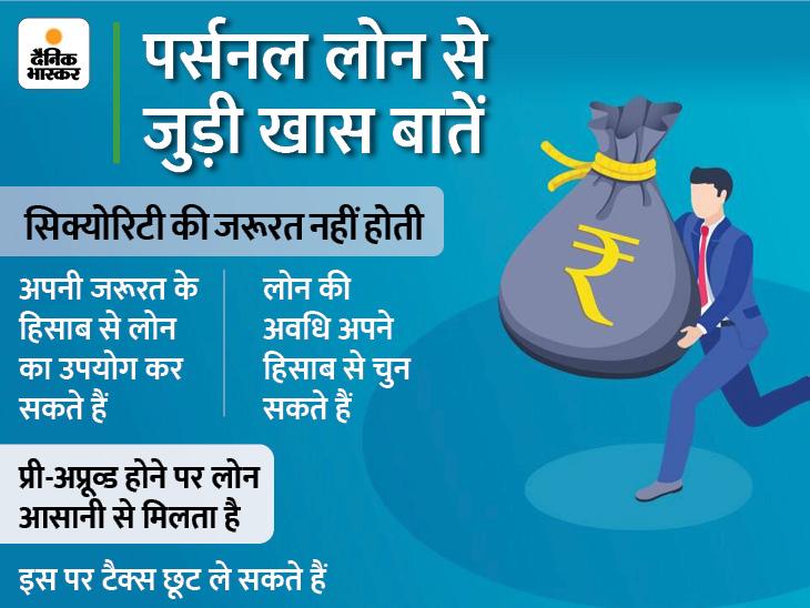 पर्सनल लोन से आप भी पैसों की समस्या को कर सकते हैं दूर, यहां जानें इसके 5 फायदे|बिजनेस,Business - Dainik Bhaskar