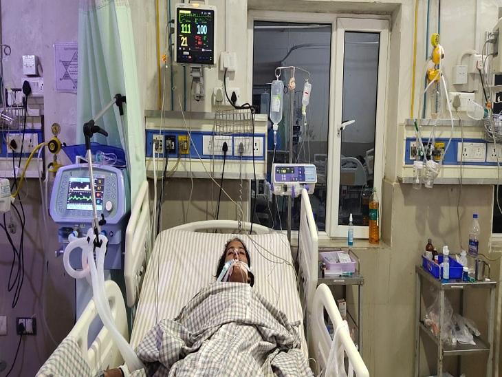 खेत में कीटनाशक का कर रहे थे छिड़काव, जिस जग में दवा घोली थी, उसी जग में पानी पिया, मां व एक बेटी की मौत; एक बेटी और भतीजी हॉस्पिटल में सवाई माधोपुर,Sawai Madhopur - Dainik Bhaskar