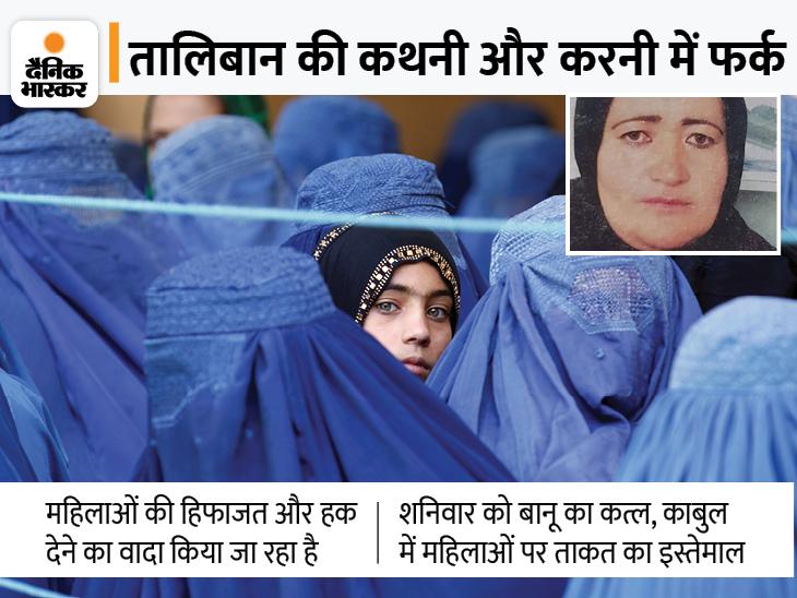पूर्व महिला पुलिस अफसर की परिवार के सामने बेरहमी से हत्या; 8 महीने की गर्भवती थी अधिकारी|देश,National - Dainik Bhaskar