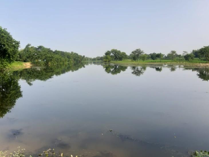 बांसी नदी का इलाका काफी खूबसूरत है।