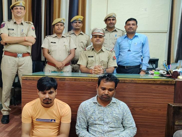 सेना की मोहर लगा फर्जी एडमिट कार्ड थमाया, फिर रांची में ट्रेनिंग कैंप लगाया; एनसीआर से 2 गिरफ्तार|झुंझुनूं,Jhunjhunu - Dainik Bhaskar