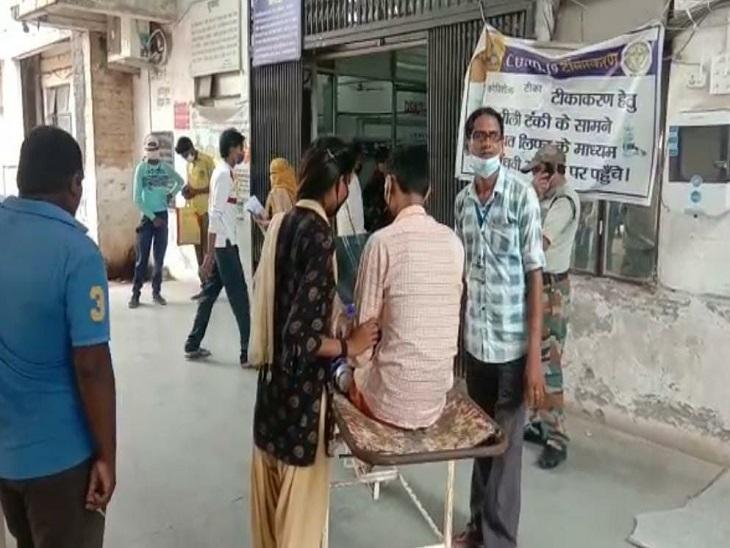 जांजगीर स्वास्थ्य कर्मचारी संघ के अध्यक्ष ने की घोषणा, कहा-अगर मांगे नहीं मानी तो जिले के सभी स्वास्थ्य कर्मी आयेंगे बिलासपुर|बिलासपुर,Bilaspur - Dainik Bhaskar
