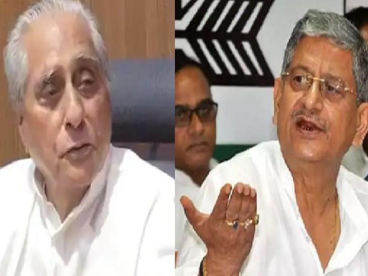 RJD कार्यालय मामले में कूदे JDU के राष्ट्रीय अध्यक्ष ललन सिंह कहा, जगदानंद सिंह थेथरलॉजी में PHD हैं; RJD बोली- अमर्यादित टिप्पणी ना करें|बिहार,Bihar - Dainik Bhaskar