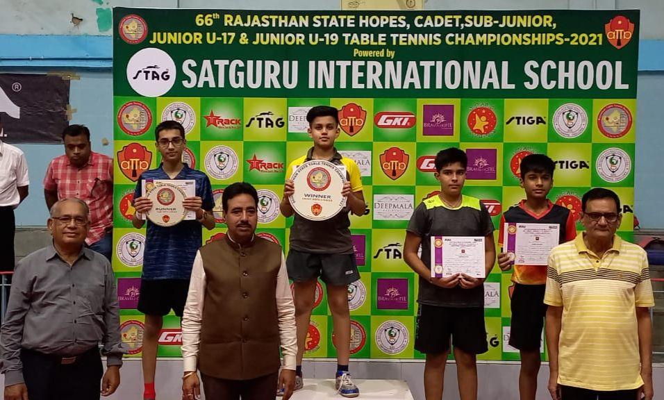 चीफ रैफरी अनिल दुबे ने बताया कि रविवार को अंडर-19 बालक और बालिका वर्ग के क्वार्टरफाईनल, सेमीफाईनल और फाइनल खेले जाएंगे।