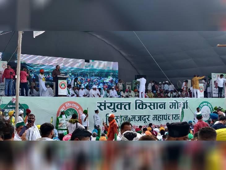 शामली में बोले गठवाला खाप के चौधरी- भारतीय किसान यूनियन अब एक परिवार का संगठन बन कर रह गया है|शामली,Shamli - Dainik Bhaskar