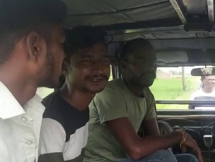 पुलिस ने मामले की जांच पड़ताल के बाद चार लोगों को हिरासत में लिया है। - Dainik Bhaskar