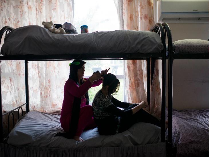 काबुल में महिलाओं का एक शेल्टर होम। - Dainik Bhaskar