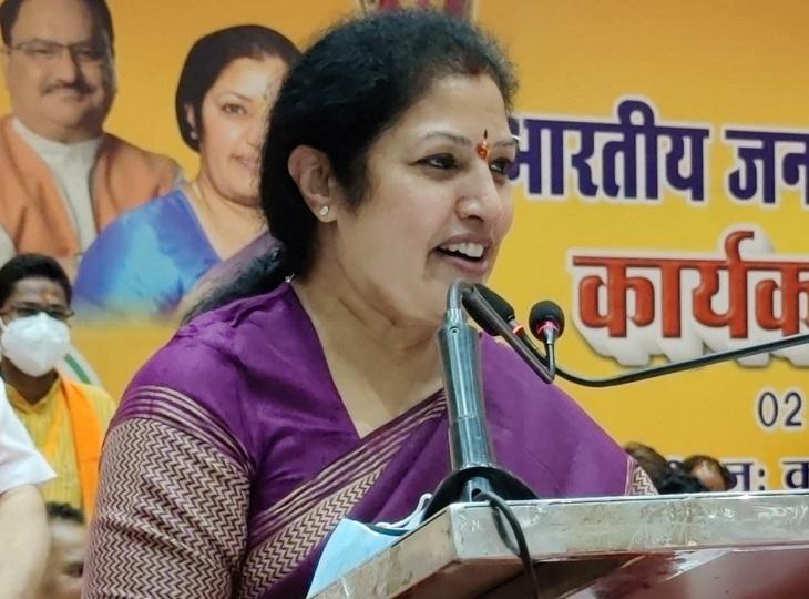 डी पुरंदेश्वरी ने कहा था कि, भविष्य में सक्षम होने के बाद भी भूपेश बघेल और फिट बैठने के लिए।