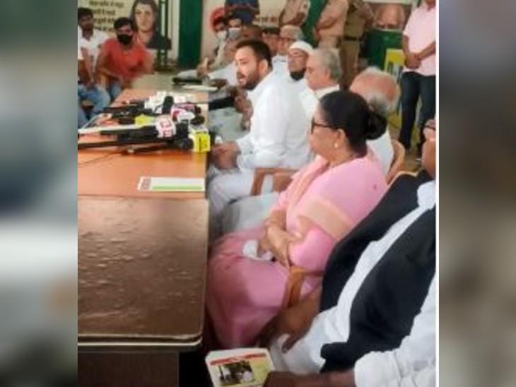 तेजस्वी यादव बोले- पूरे देश में आंदोलन की तैयारी कर रहा राजद, सोनिया गांधी ने भी बनाई कमेटी, कई दलों के साथ भी होगी बात बिहार,Bihar - Dainik Bhaskar