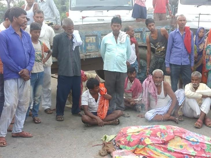 बाइक सवार ने युवक को मारी जोरदार टक्कर, इलाज के दौरान मौत, परिजनों में कोहराम|भोजपुर,Bhojpur - Dainik Bhaskar